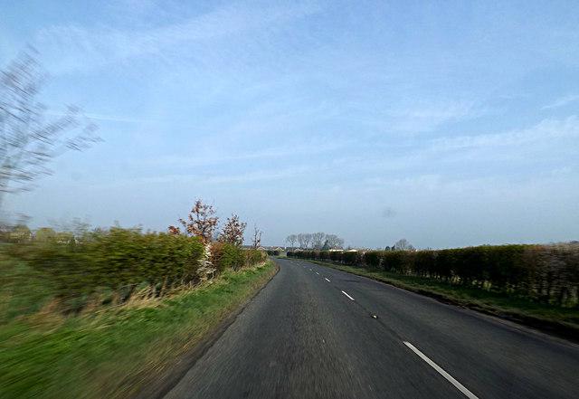 A1120 Bell's Lane, Saxham Street