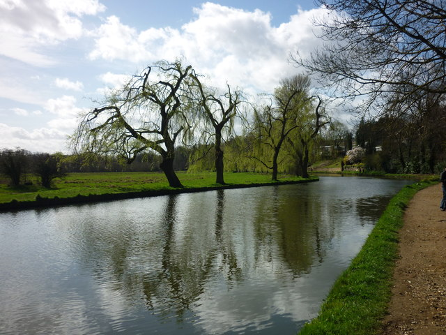 River Wey out of Guildford