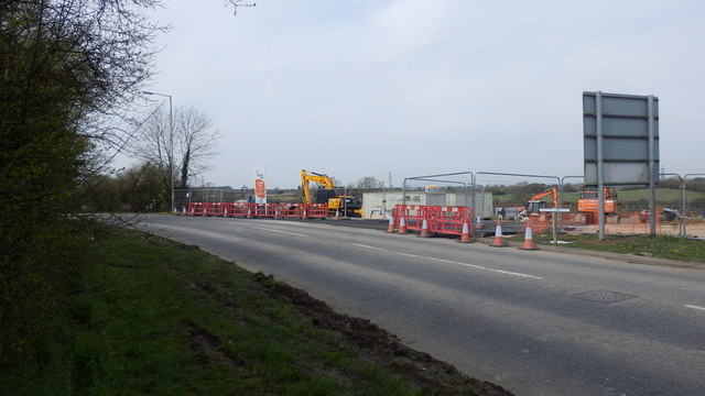 Construction of Ridgeway Farm