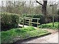 SK4426 : Footbridge on the Airport Trail by Ian Calderwood