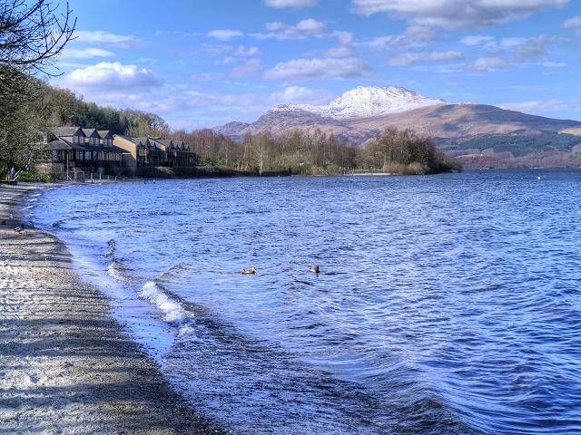 Loch Lomond at Luss