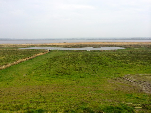 Portmore Lough from the observation platform