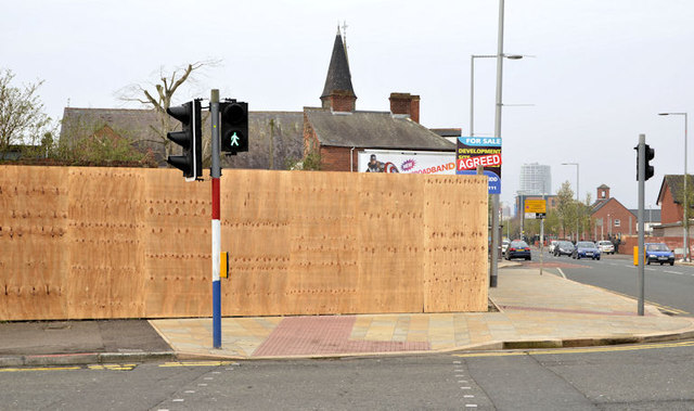 Newtownards Road/Templemore Avenue development site, Belfast  (March 2014)