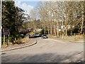 NN2281 : A82/A86 Junction at Spean Bridge by David Dixon