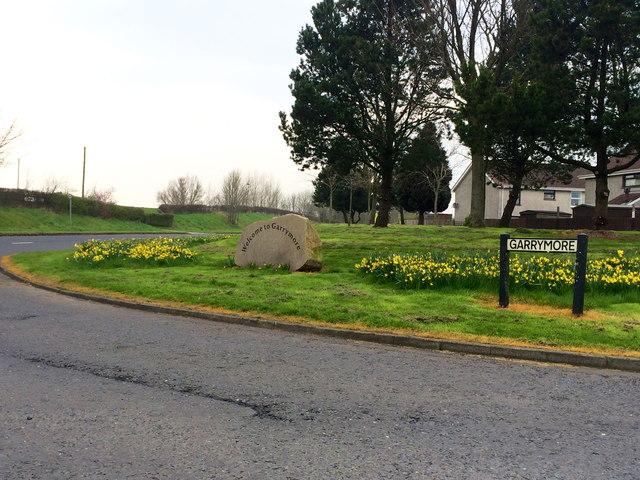 Entrance to Garrymore, Craigavon