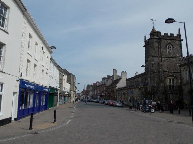 Shaftesbury: High Street