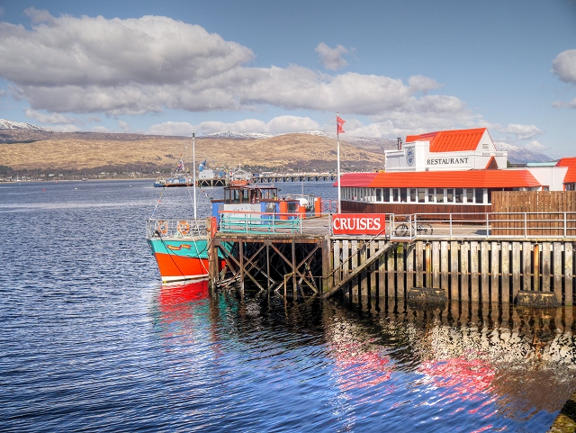 Town Pier, Fort William