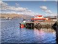 NN0973 : Loch Linnhe, Fort William Town Pier by David Dixon