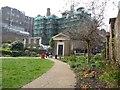 TQ3082 : West end, St George's Gardens by Christine Johnstone