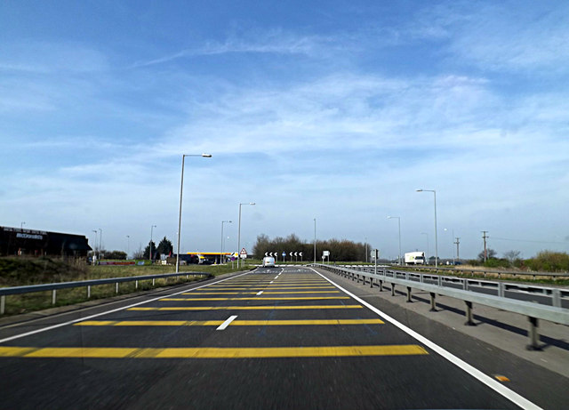 A428 St.Neots Road, Caxton Gibbet