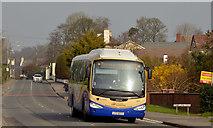 "J4058 : Ulsterbus ""Goldline"" express, Saintfield by Albert Bridge"
