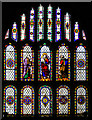 TQ8431 : East Window, St Mary's church, Rolvenden by Julian P Guffogg