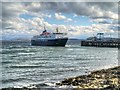 NM7137 : MV Isles of Mull at Craignure Pier by David Dixon