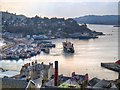 NM8630 : View of Oban Harbour from McCaig's Tower by David Dixon