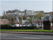 SX9192 : Bartholomew Street from Bonhay Road, Exeter by Christine Johnstone