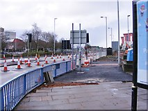 SO9098 : Ring Road St Marks Repair by Gordon Griffiths