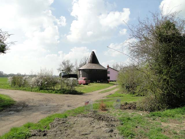 What remains of Syleham windmill