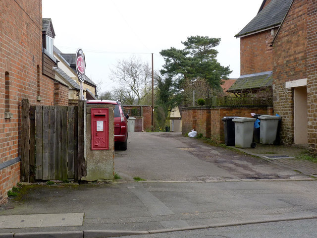 Whissendine West End postbox ref LE15 17