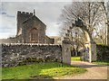 NR8398 : Kilmartin Parish Church and War Memorial Arch by David Dixon