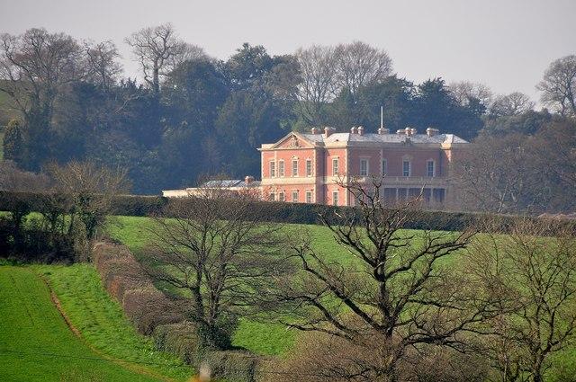 Mid Devon : Hillersdon House & Scenery