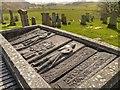 NR8398 : Kilmartin Graveyard, The Poltalloch Enclosure by David Dixon