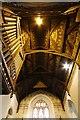 SU4388 : The Chancel Ceiling by Bill Nicholls
