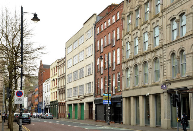 Donegall Street, Belfast (April 2014)