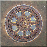 J3372 : Coal hole cover, Belfast by Rossographer