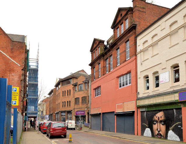 The disguised North Street Arcade, Belfast - April 2014(2)