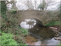 ST5756 : Shrowl Bridge over the River Chew by Dr Duncan Pepper