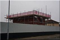 TA1330 : House building on Preston Road Estate by Ian S