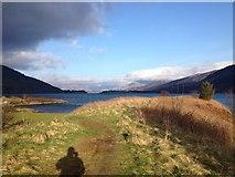 NN0858 : Shoreline of Loch Leven near Ballachulish by Steven Brown