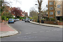 TQ2785 : Lawn Road, Belsize Park by Kate Jewell