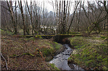 NY3915 : Old dam above Patterdale village by Ian Taylor