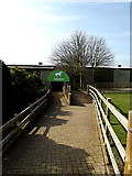 TL2668 : Entrance to the Britten Arena by Adrian Cable