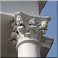 TQ2785 : Architectural detail, Upper Park Road by Kate Jewell
