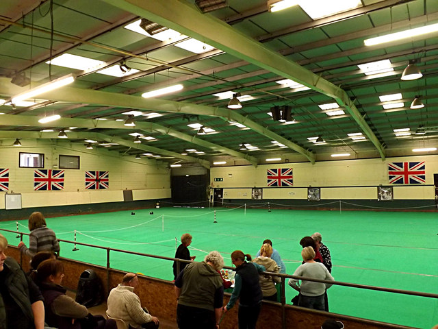 Inside the Britten Arena