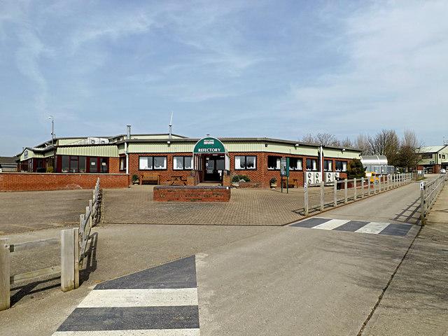 Refectory at Wood Green Animal Shelter