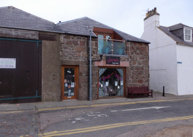 Former lifeboat shed, Old Pier Stonehaven
