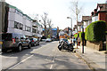 TQ2784 : Antrim Grove, Belsize Park by Kate Jewell