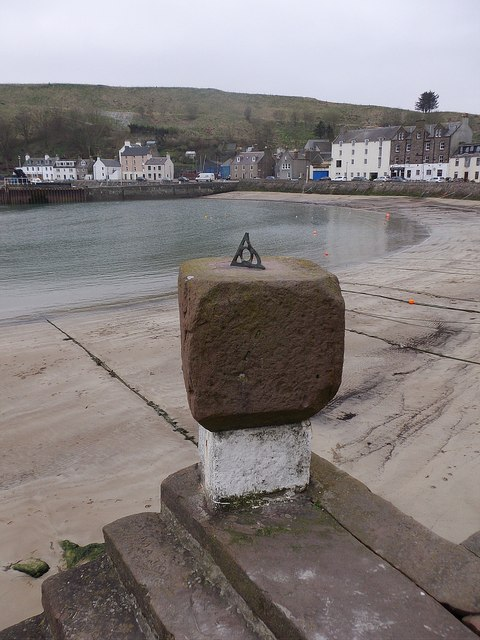 Sundial on the Old Pier, Stonehaven