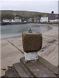 NO8785 : Sundial on the Old Pier, Stonehaven by Stanley Howe