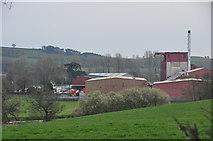 SS9902 : Mid Devon : Countryside Scenery & Devon Valley Mill by Lewis Clarke