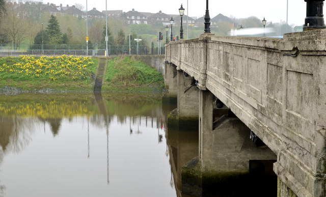 The King's Bridge, Belfast - April 2014(2)