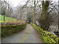 SE0420 : Ryburn Lane, Ripponden FP59, below Rose Cottage by Humphrey Bolton