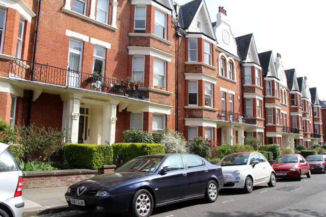 Antrim Mansions, Belsize Park