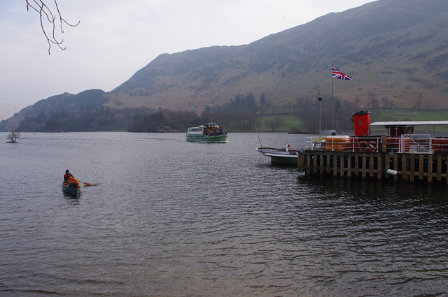 Boats on Ullswater