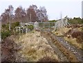 NH4538 : Gate on the Loch Neaty track by Craig Wallace