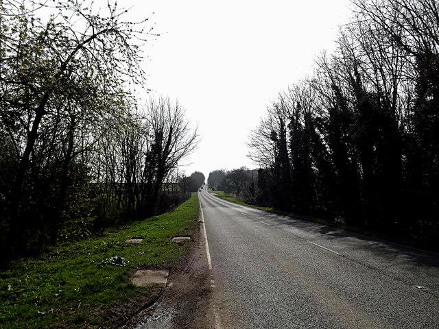 A1198 Ermine Street, Lattenbury Hill, Huntingdon