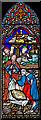 TQ8821 : Stained glass window, Ss Peter & Paul church, Peasmarsh by Julian P Guffogg